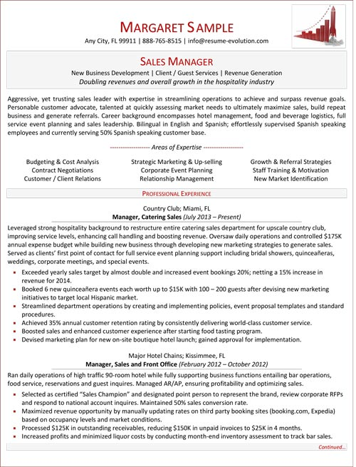 Mid Level Resume Sample Resume Evolution  Mid Career Resume