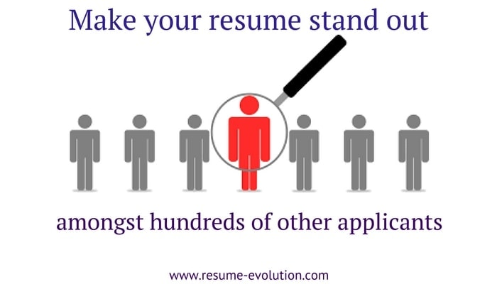professional resume writing service says your resume should look good